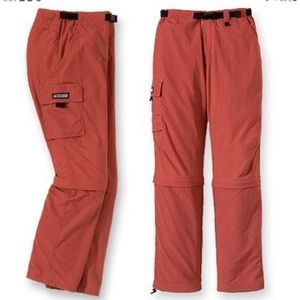 REI DENALI CONVERTIBLE HIKING PANTS. SIZE 10